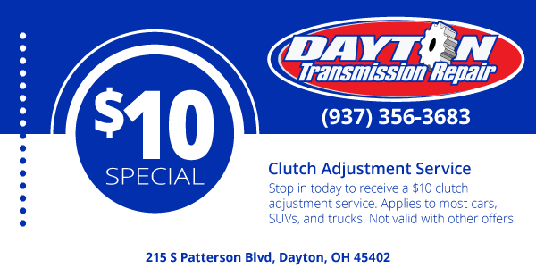 Clutch Adjustment Service Coupon