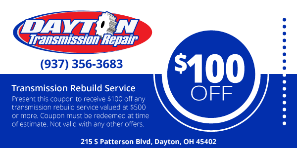 Transmission Rebuild Service Coupon